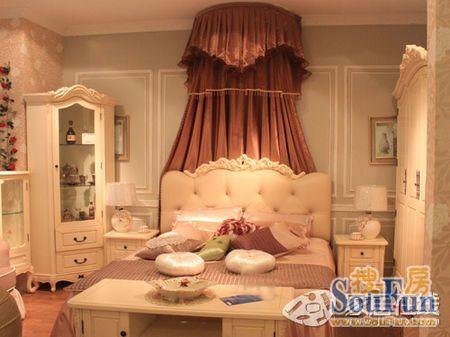 大爱欧式田园卧室 美丽优雅家居氛围