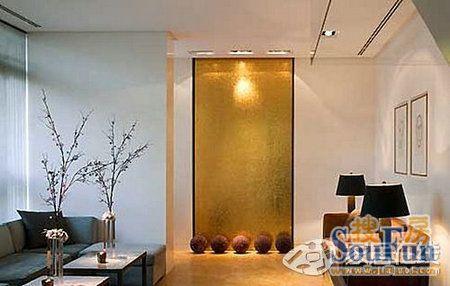 欧式风格家居装修 金色装饰设计淋漓尽致